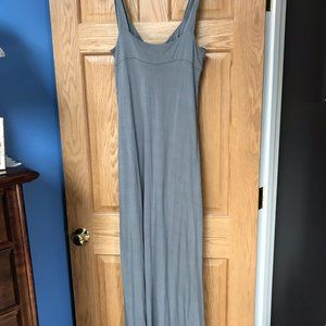 Matty M Grey Maxi Dress